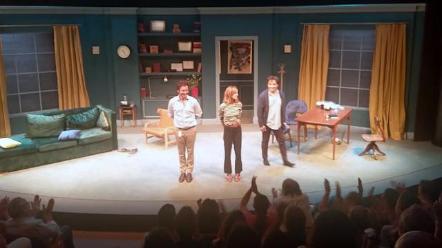"""""""Terapia amorosa"""" protagonizado por Benjamín Vicuña, Violeta Urtizberey Fernán Mirás en el Teatro Picadero"""
