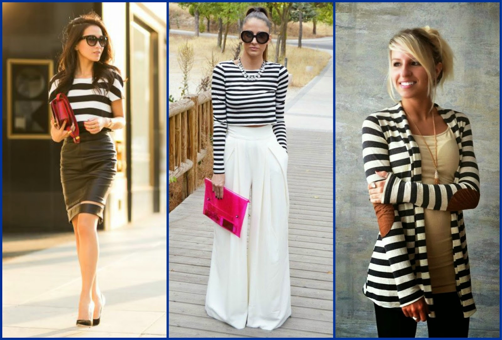 Learn-How-to-Wear-the-Trendy-Stripe-Fashion