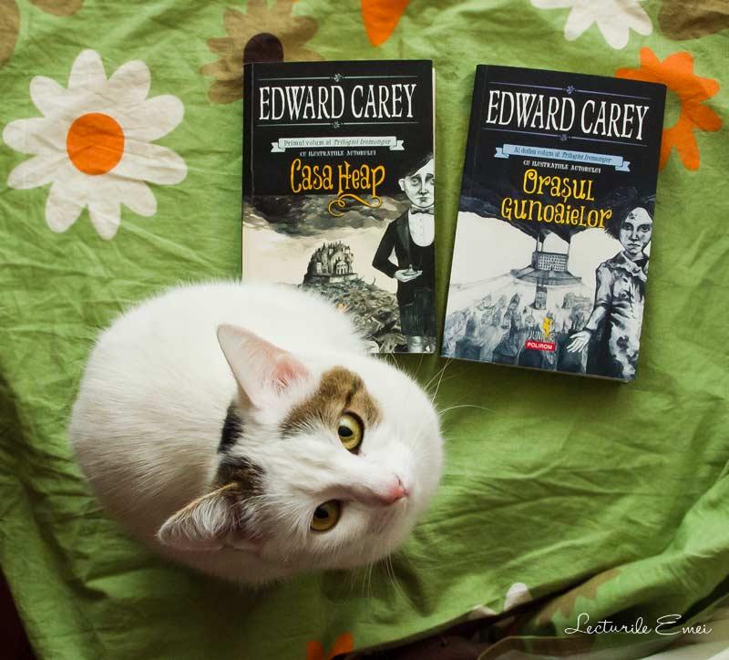 Orasul gunoaielor Edward Carey
