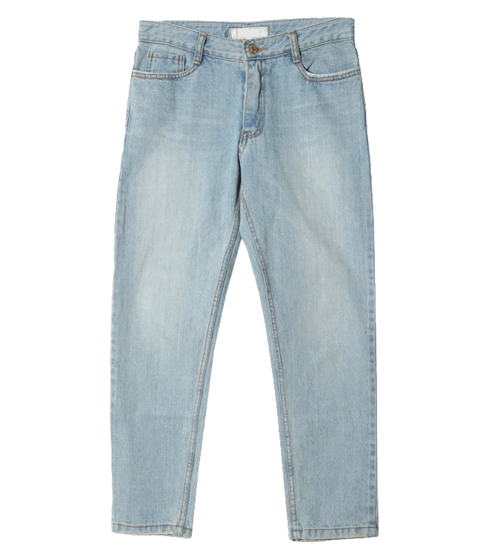 Faded Tapered Jeans