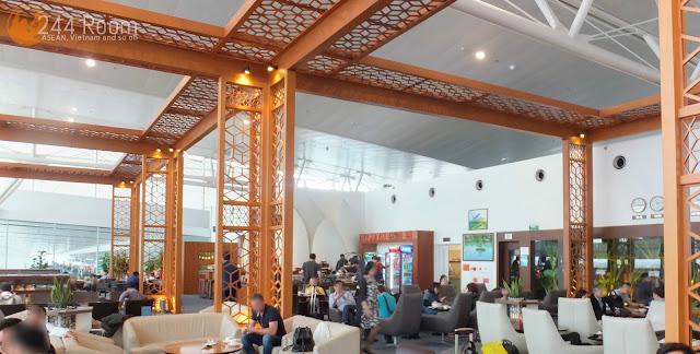Noibai Airport Lotus Lounge ロータスラウンジ室内