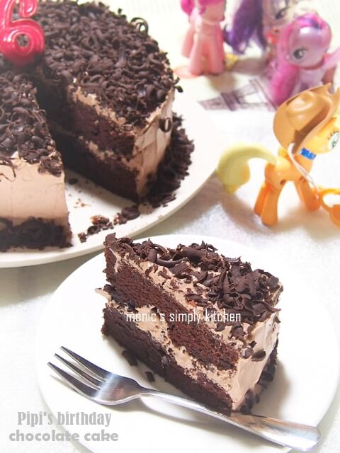 resep easy chocolate cake