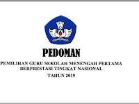 Download Pedoman Pemilihan Guru SMP Berprestasi Tahun 2019