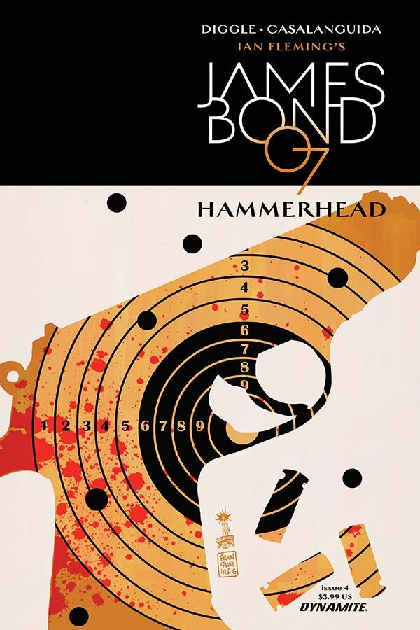 Exclusive Extended Previews Of James Bond: Hammerhead #4