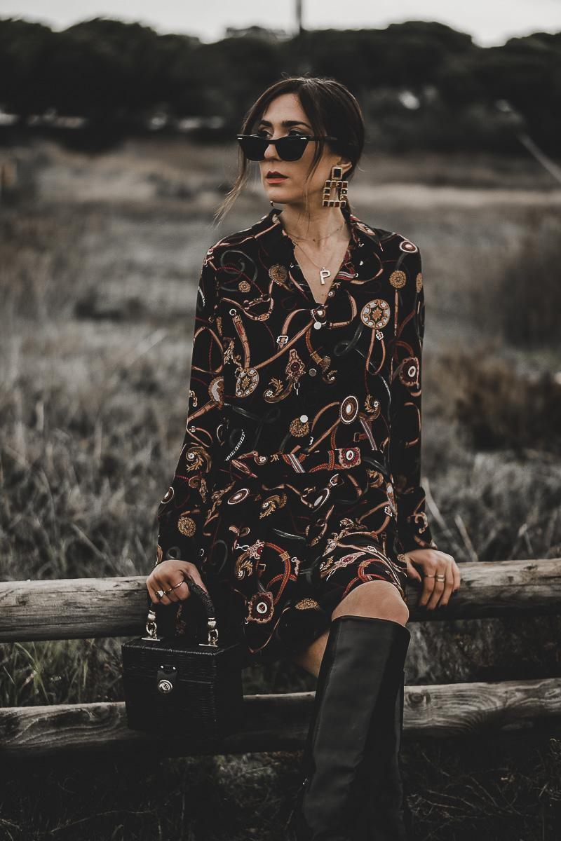 vestido camisero - nueva temporada zara 2019
