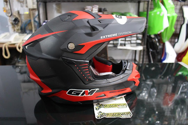 Harga helm cross GM