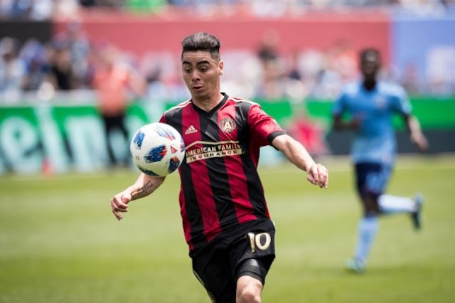 Arsenal set to sign £15m striker Miguel Almiron from Atlanta United in January