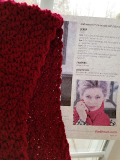 Free Crochet Berry Stitch Scarf Pattern