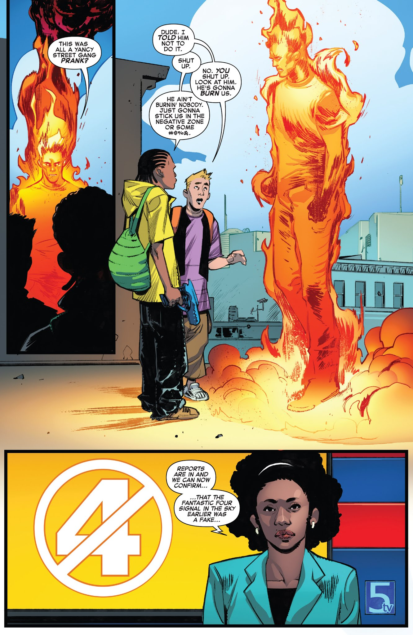 Fantastic Four (2018) #1 #16 - English 12