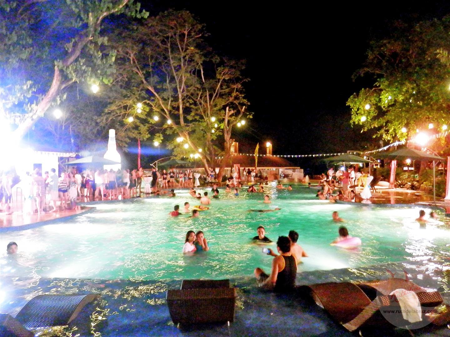Looking For The Pools There Are 3 In Resort Official Launch Of Matabungkay Beach Was Held Poolside Were Dancing Lights