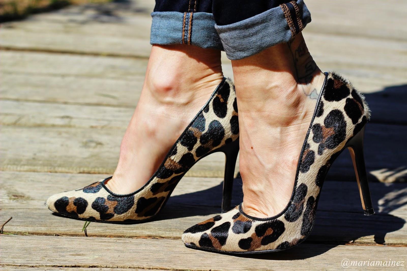 mejores zapatillas de deporte 5fff5 60cb4 María Mainez : Outfit 27/2015 Complementos Leopard print
