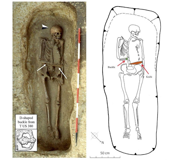 Burial of medieval man with knife-hand prosthesis discovered in northern Italy