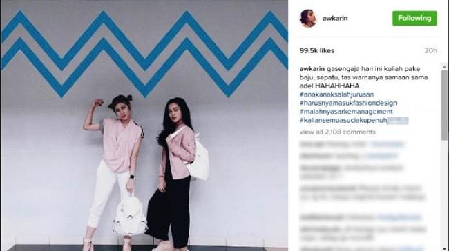 Bintang Media Sosial Awkarin diperingatkan KPAI karena kelakuannya yang menjadi contoh moral buruk bagi para remaja.