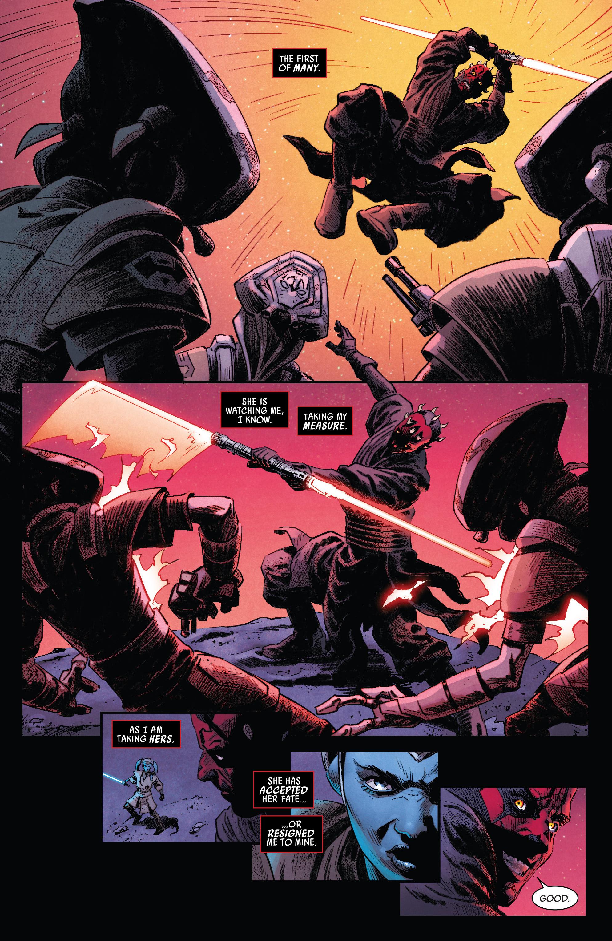 Read online Darth Maul comic -  Issue #4 - 13