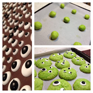 Cookies aux yeux (Halloween)