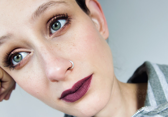 jeffree star liquid lipstick androgyny mauve makeup look