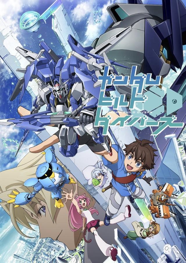 Confirmado el anime Gundam Build Divers para primavera