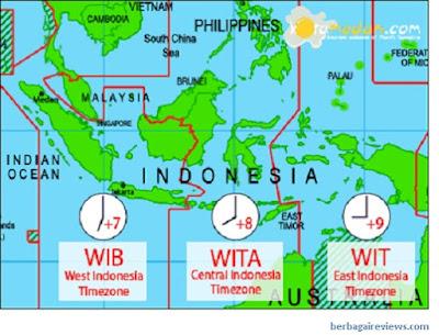 Pengaruh garis bujur berdasarkan letak astronomis Indonesia - berbagaireviews.com