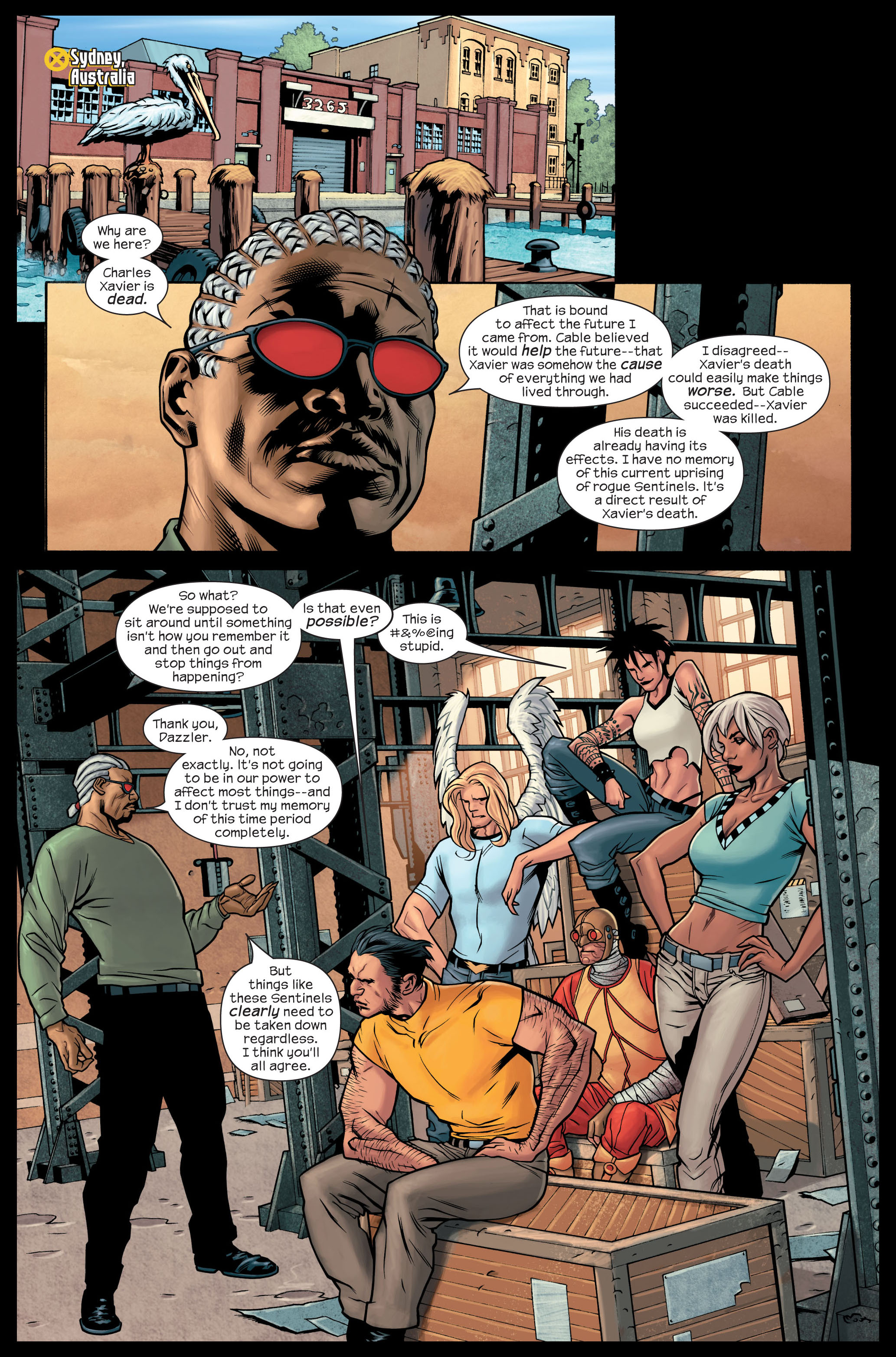 Read online Ultimate X-Men comic -  Issue #84 - 11