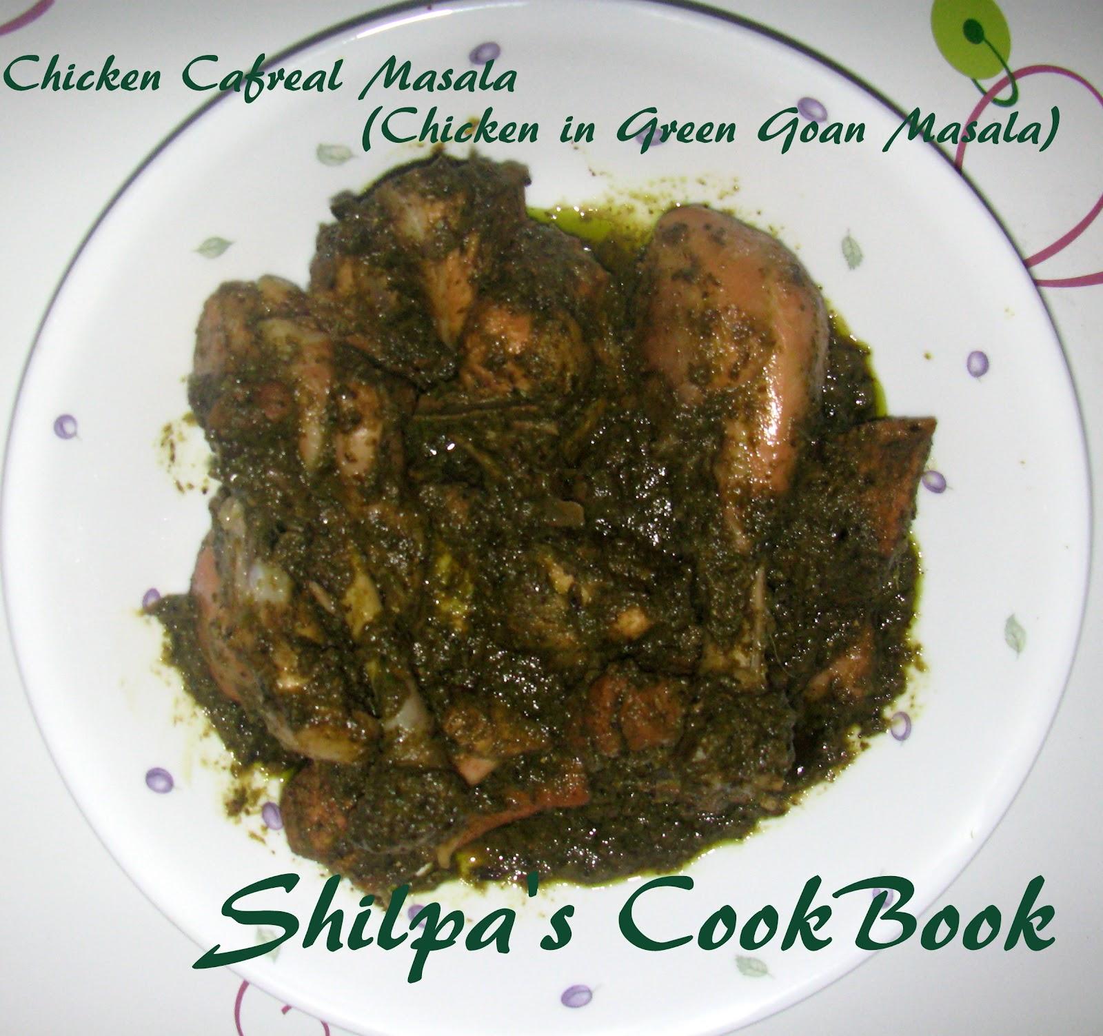 Cook book chicken cafreal fried chicken in green masala goan style chicken cafreal fried chicken in green masala goan style forumfinder Image collections