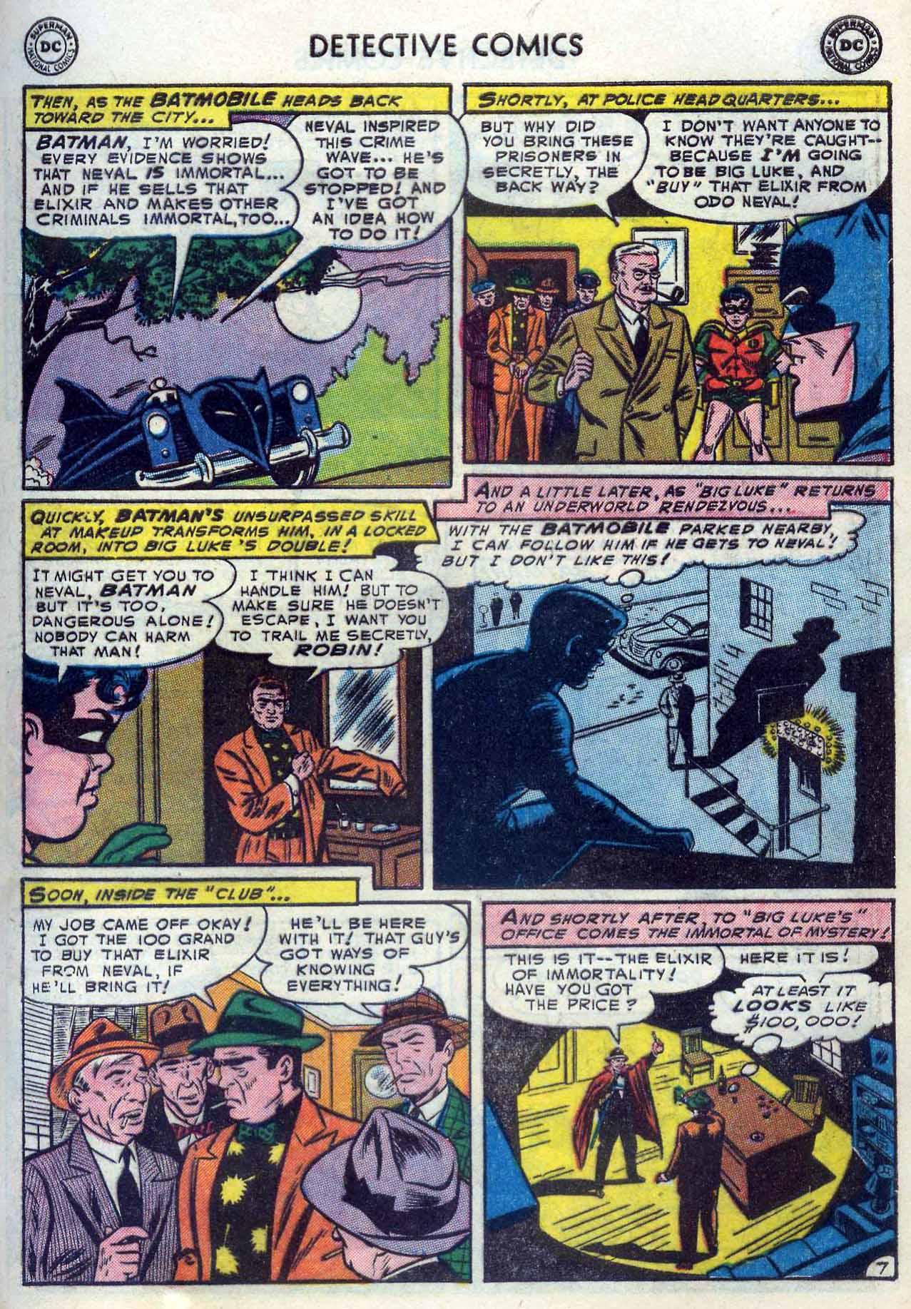 Read online Detective Comics (1937) comic -  Issue #204 - 9