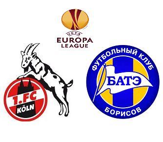 Cologne vs BATE Barisov match highlights