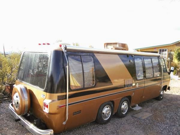 Used RVs 1976 GMC Glenbrook Motorhome For Sale by Owner