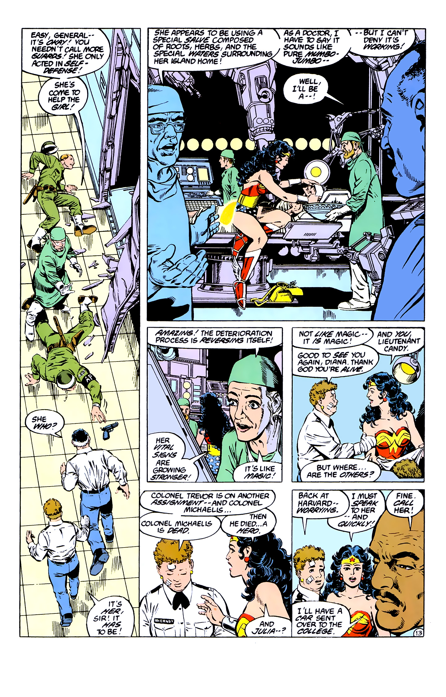 Read online Wonder Woman (1987) comic -  Issue #7 - 13