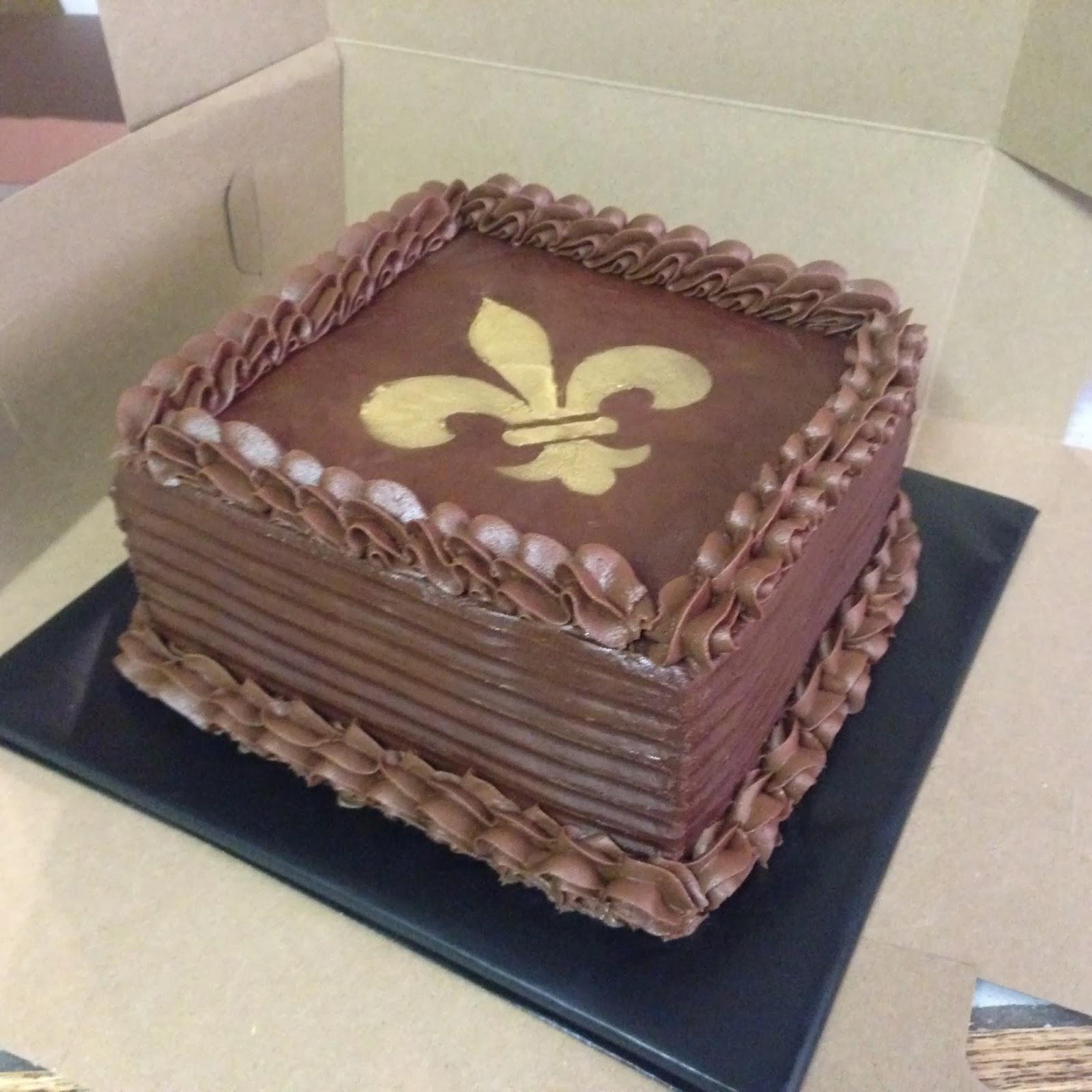 Cakes By Mindy Chocolate Fleur De Lis Cake 8 Quot