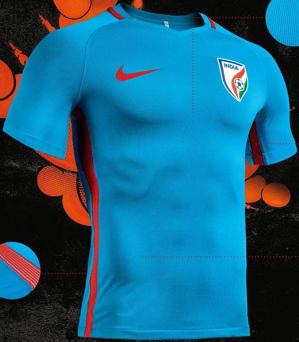 Nike divulga a nova camisa titular da Índia - Show de Camisas a3decfca86fe0