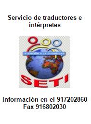 SETI servicio de traductores e interpretes