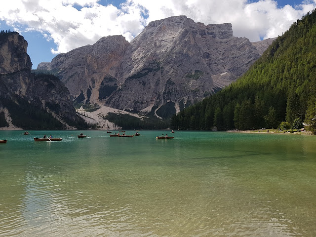 lago di braies dolomiti