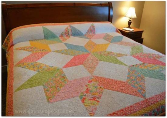Carpenter Square Block Quilt Star