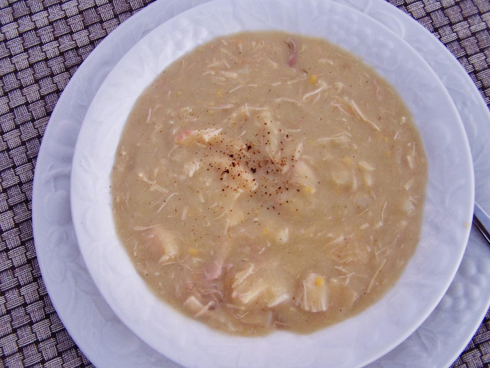 Cream of Chicken, Cauliflower & Fennel Soup recipe, gluten free, clean eating