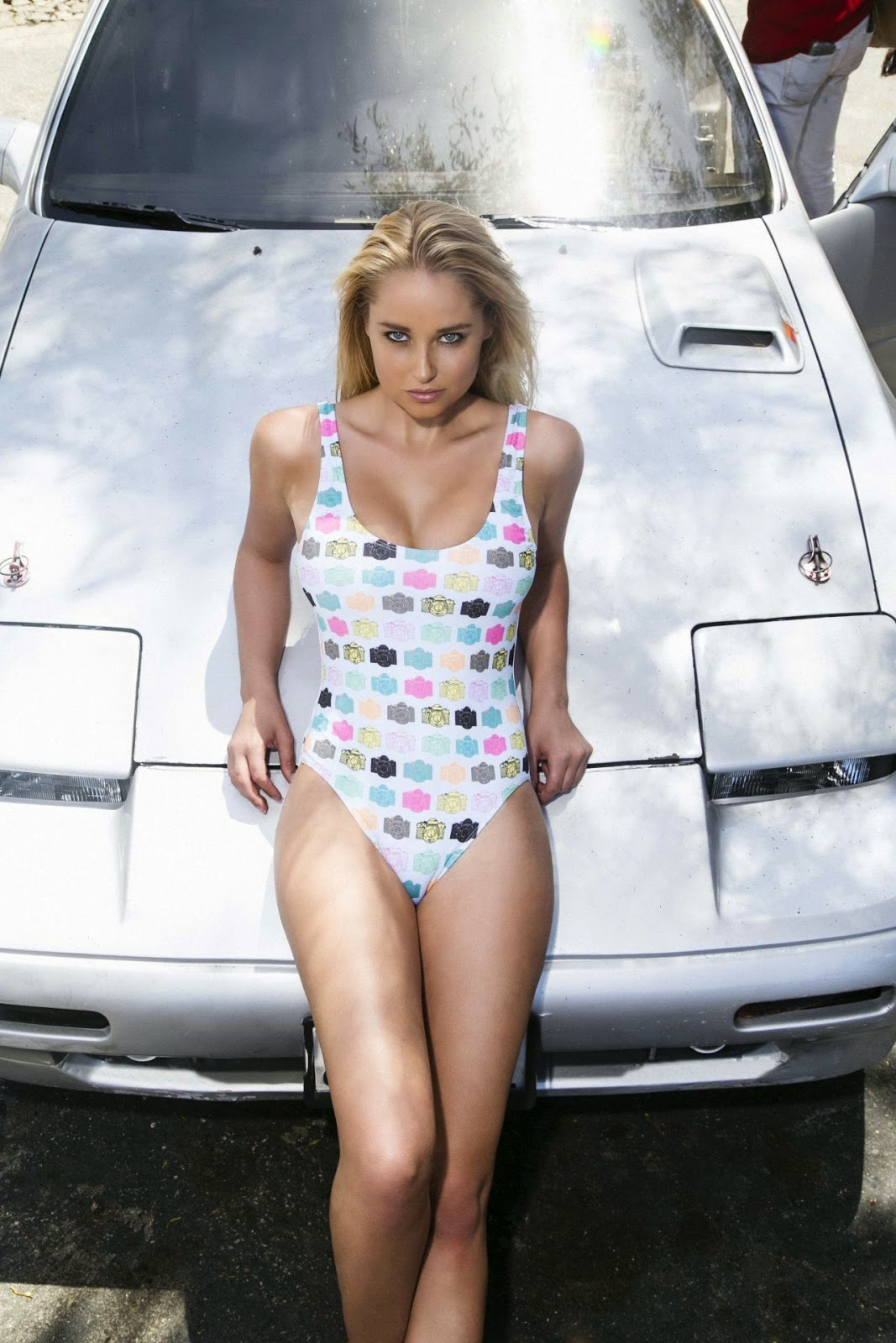Genevieve Morton – Nathan Paul Summer 2014 Swimwear Photoshoot
