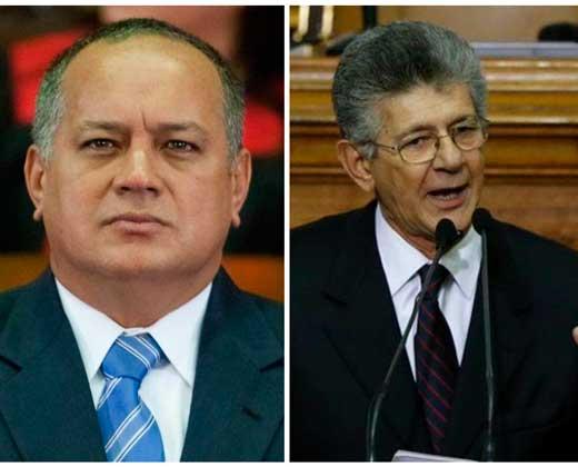 """¡Otro round! Cabello acusó a Ramos de """"sinvergüenza"""" y le dedicó """"el mazo adentro"""""""