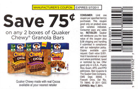 COUPON FINE PRINT EXAMPLE