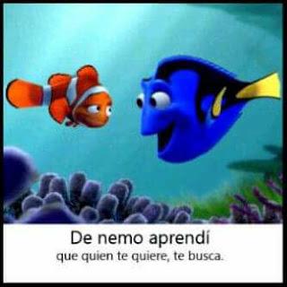 De Nemo aprendí que quien te quiere te busca