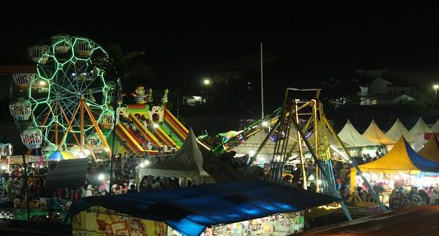 Meriahnya Bazar Festival Bahari Kamal 2018