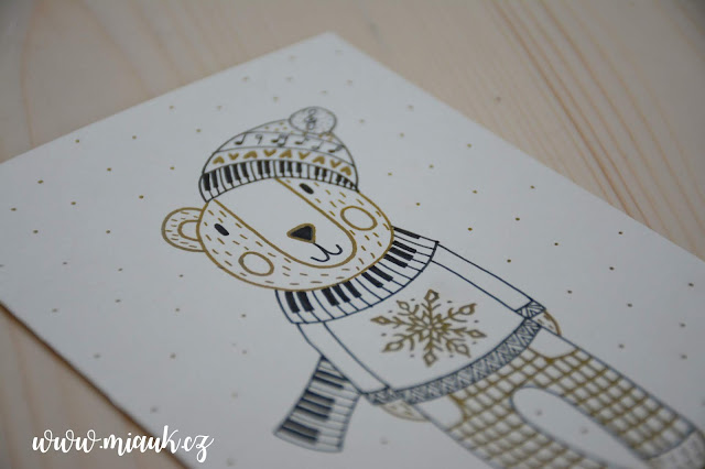 vánoční přání hudební
