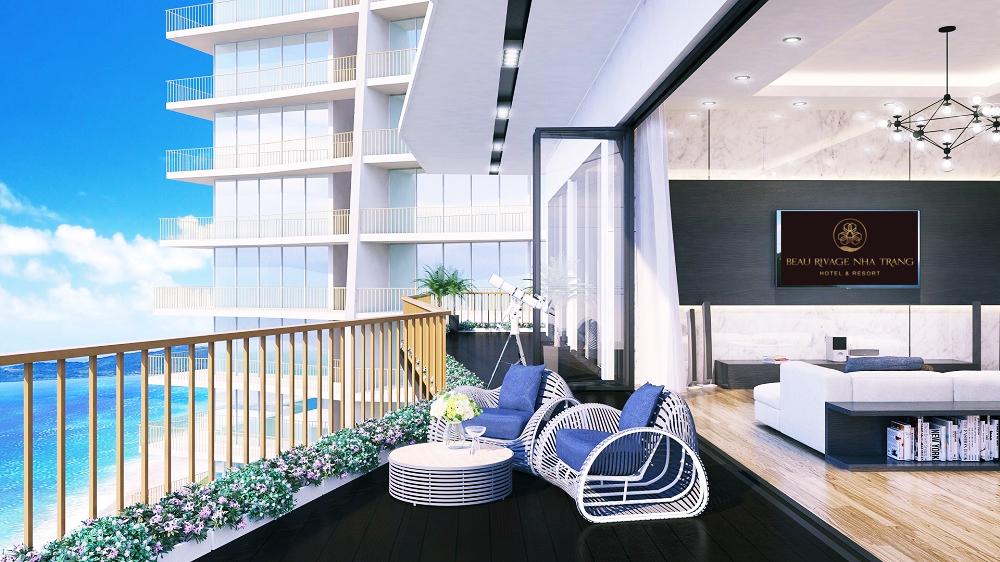 Thiết kế căn hộ Beau Rivage Nha Trang