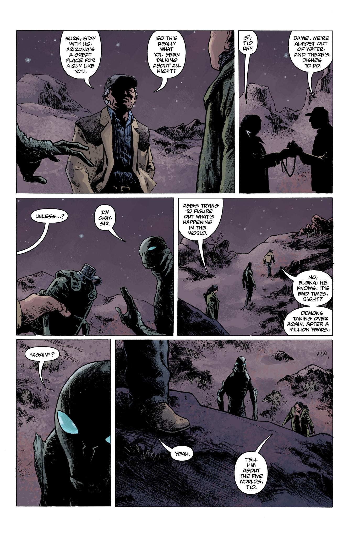 Read online Abe Sapien comic -  Issue #6 - 18