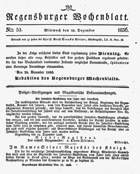 Nachrichten Aus Regensburg