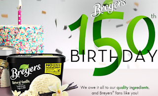 Groovy Breyers Ice Cream Birthday Party In A Box Prize Pack Giveaway 50 Funny Birthday Cards Online Alyptdamsfinfo