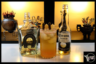 cerveza y tequila cocktails