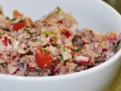 Chopped Radish Salad with Meat or Salpicon