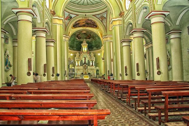 Interior Iglesia San Antonio de Padua.Gualeguay