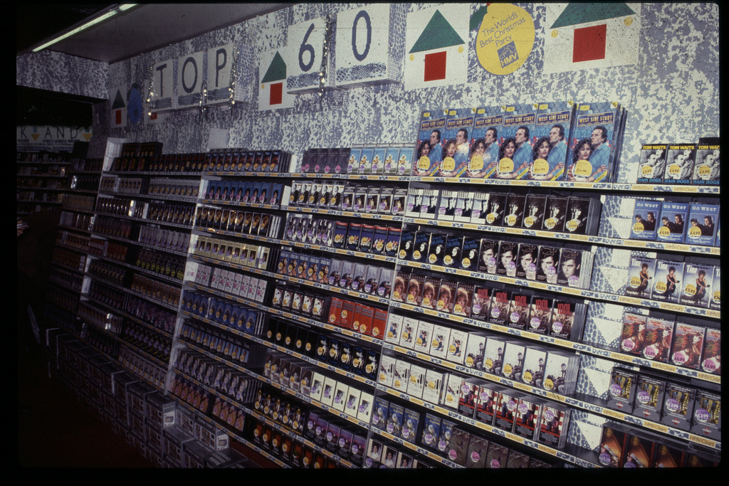 Old record shop p*rn HMV-store-1980s-16