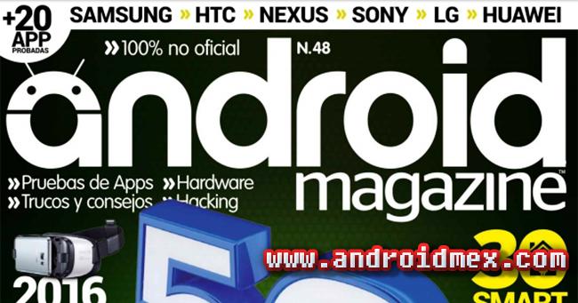 Android Magazine - el futuro se acerca banner