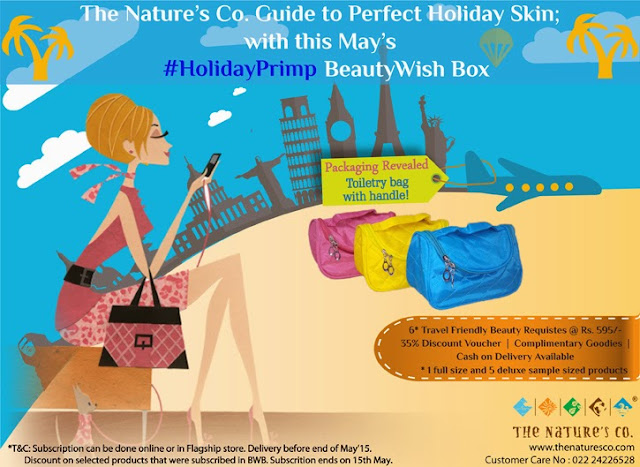 "The Nature's Co. May's exclusive ""Holiday Primp"" BeautyWish Box"